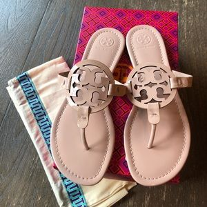 Tory Burch Miller Sandals BNWT size 9